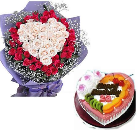 韩国鲜花:玫瑰密语