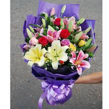 情人节礼物                                                                                          鲜花网:色彩缤纷