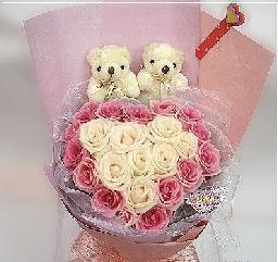 中秋节礼物                                                                                          鲜花网:爱如此心