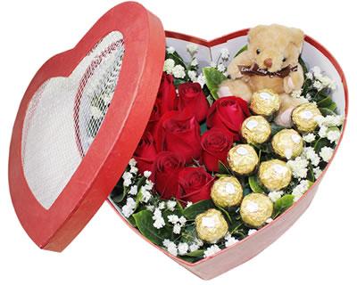国庆节鲜花                                                                                          鲜花网:爱的火花