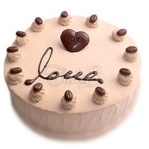 天津生日蛋糕:巧克力甜心