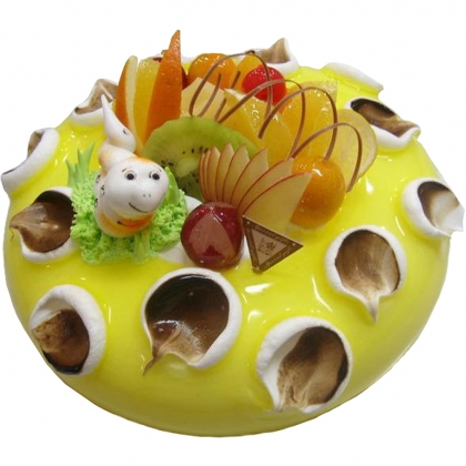 德州生日蛋糕:小蛇