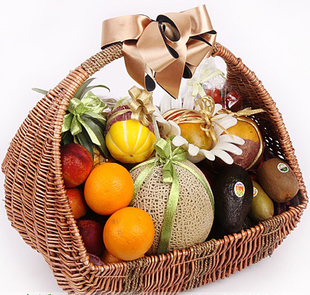 沈阳水果篮:果篮-浪漫满篮
