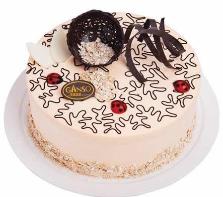 玄武元祖:元祖蛋糕-黄金燕麦香芋