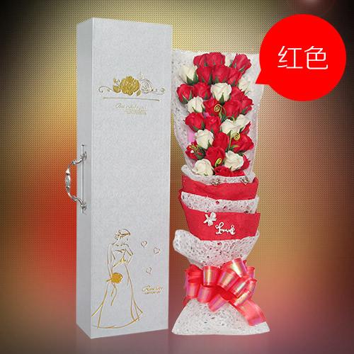 瑞安肥皂花:33朵搭配红香皂花