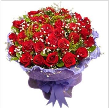 哥伦布市鲜花-爱你三生三世