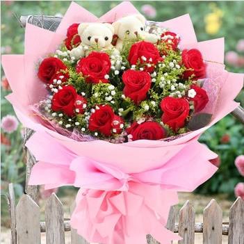 达拉斯鲜花快递网-坚定的爱