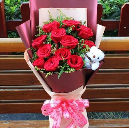 西班牙鲜花礼品-一生的爱
