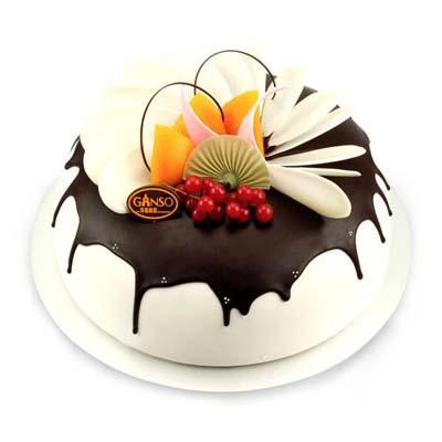 网红蛋糕                                                                                            鲜花网:元祖蛋糕-田园晓美