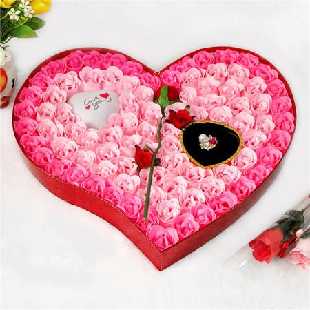肥皂花:香皂花-92朵一枝花灯戒指