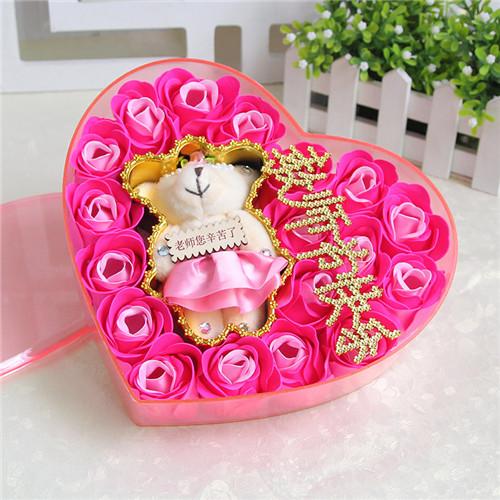 瑞安肥皂花:18朵香皂花老师款粉色