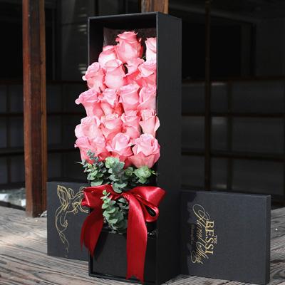 永生花:进口花-粉色的热恋