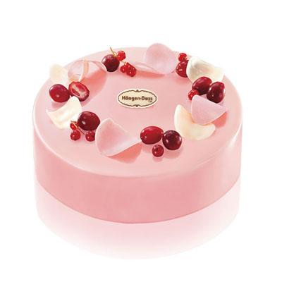 哈根达斯:哈根达斯 冰淇淋蛋糕 蔓越莓舞