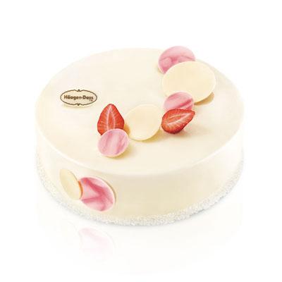 哈根达斯:哈根达斯 冰淇淋蛋糕 草莓情人梦
