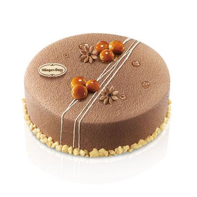 哈根达斯:哈根达斯 冰淇淋蛋糕 夏果仁甜梦