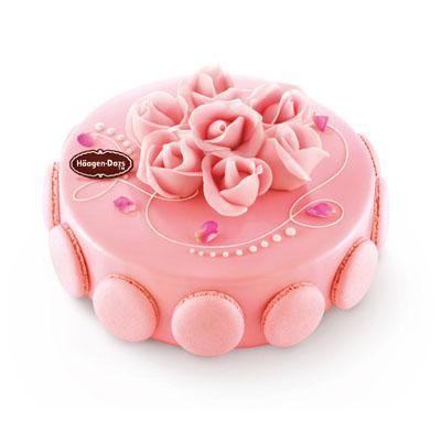 哈根达斯:哈根达斯 冰淇淋蛋糕 玫瑰馨语