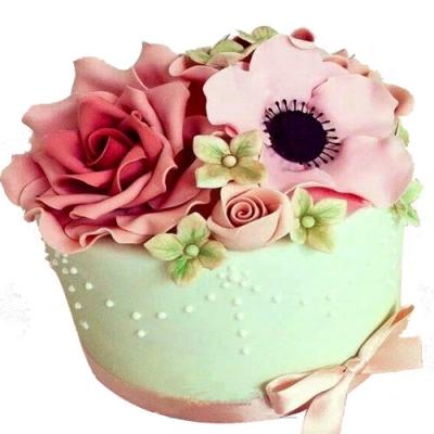 邓州最好的蛋糕-翻糖蛋糕 欲燃炽情