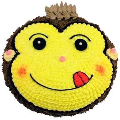 长武订蛋糕-机灵小猴
