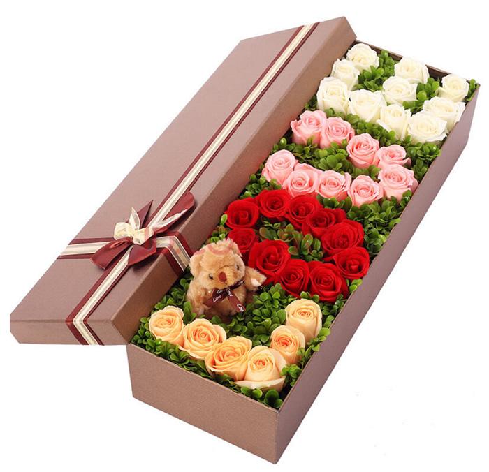 国际鲜花礼品店-love礼盒