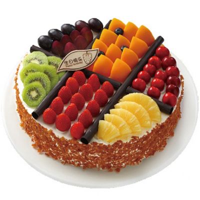 多层蛋糕                                                                                            鲜花网:我想要的幸福
