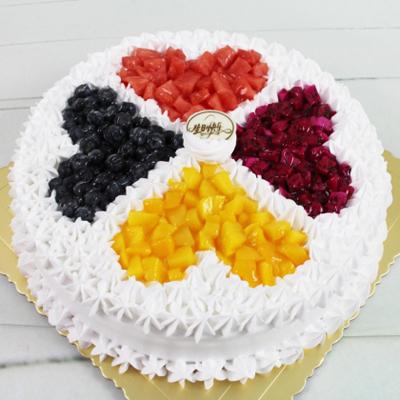 蛋糕订制                                                                                            鲜花网:心灵相通