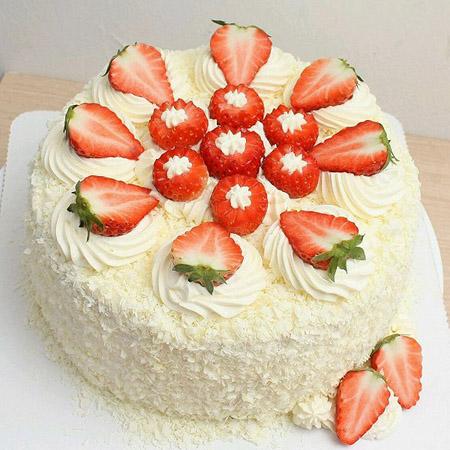 建军节礼物                                                                                          鲜花网:草莓幸福快乐