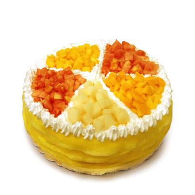 建军节礼物                                                                                          鲜花网:榴莲蛋糕