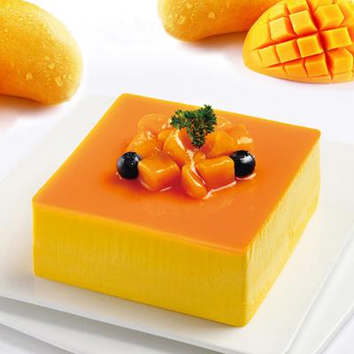 西班牙蛋糕鲜花-芒果慕斯