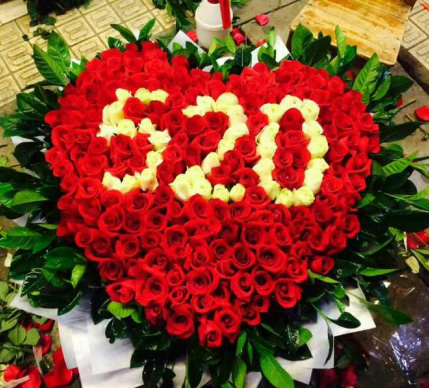 贝雷兹尼基鲜花店-520玫瑰-想你(特价)