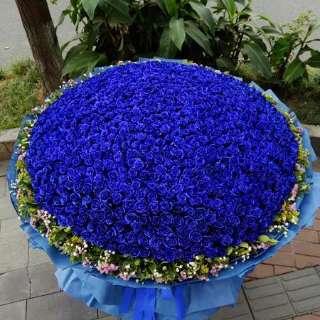 香港市鲜花礼品-爱你一万年