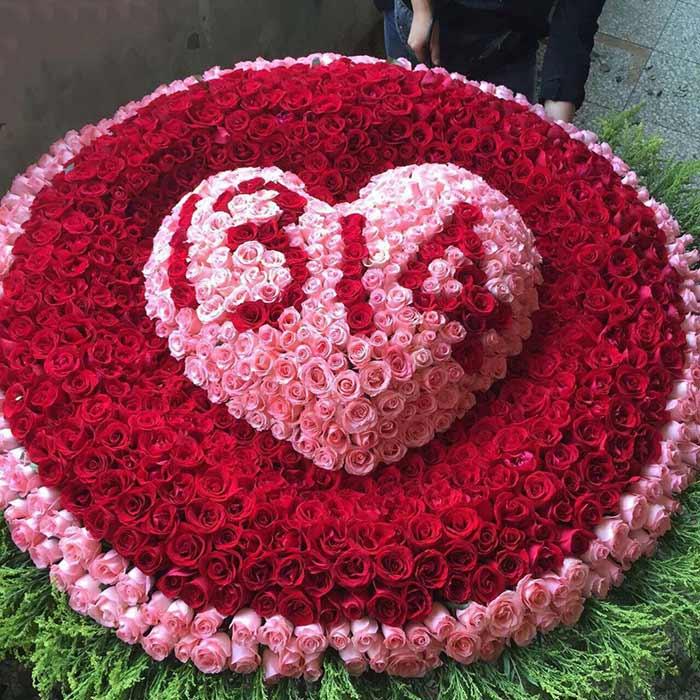 重阳节礼物                                                                                          鲜花网:一生一世