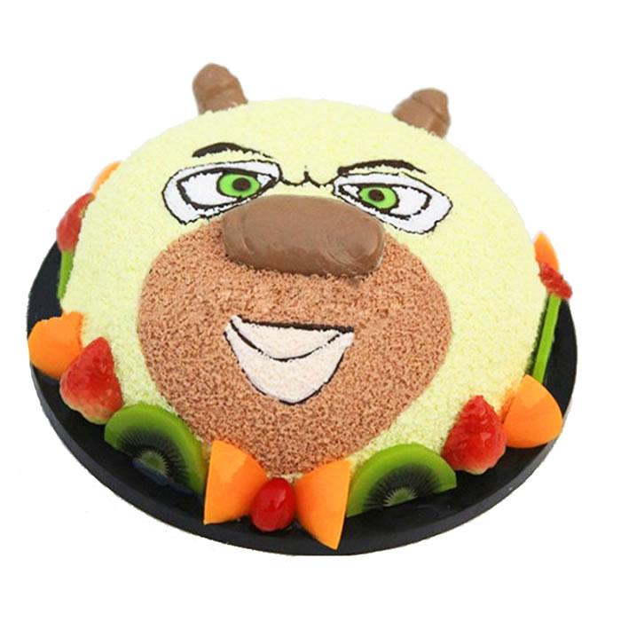 黑森林蛋糕                                                                                          鲜花网:熊大