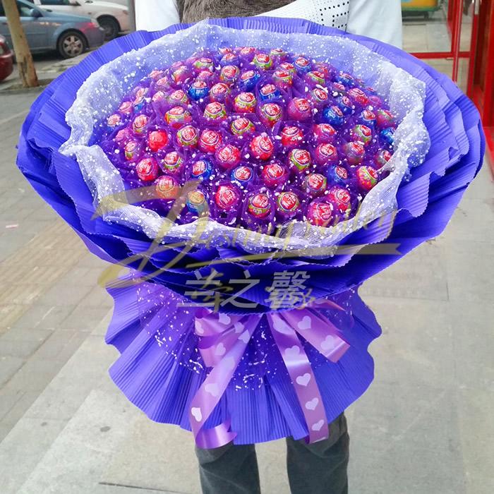 重阳节礼物                                                                                          鲜花网:棒棒糖