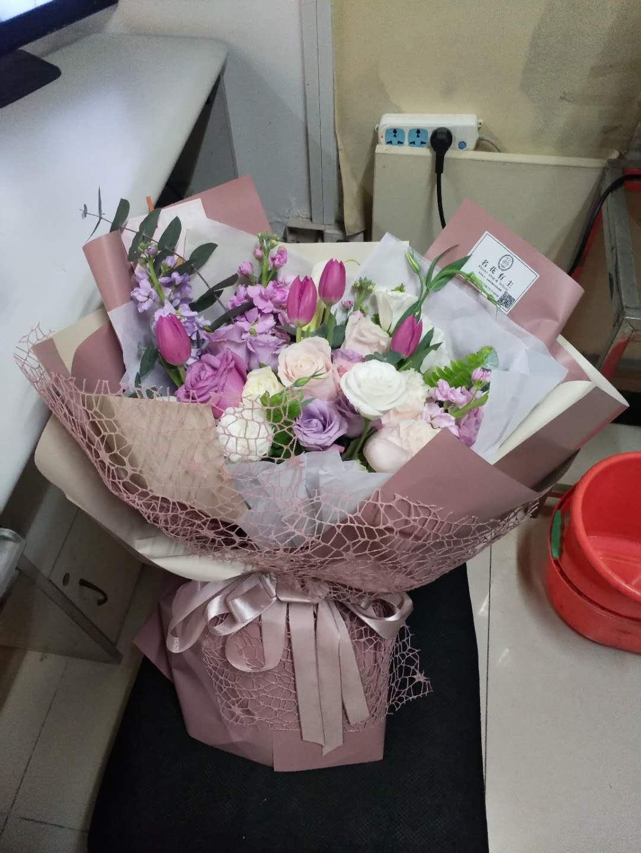 国际鲜花网-紫色之恋