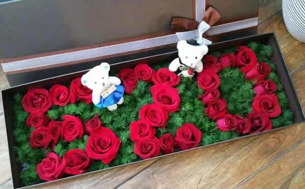 泰国鲜花礼品-520快乐