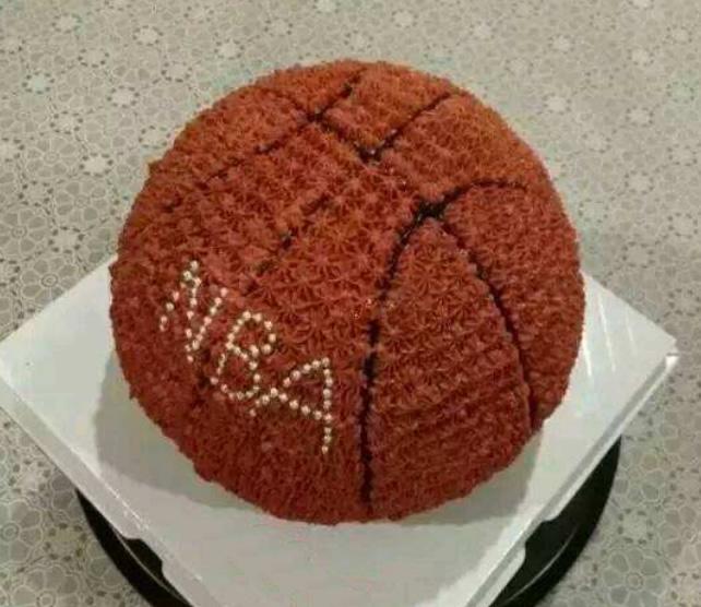 加拿大鲜花网:篮球蛋糕-快乐的心