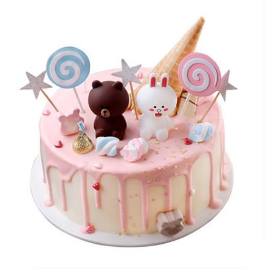 红包蛋糕                                                                                            鲜花网:布朗熊蛋糕