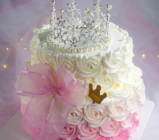 重庆鲜花:皇冠生日蛋糕创意定制