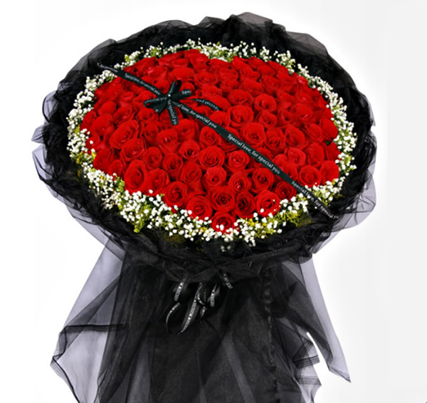 法国鲜花礼品-我爱你永远