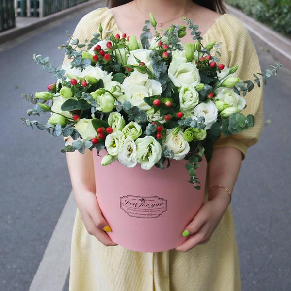 釜山网上订花-喜笑颜开