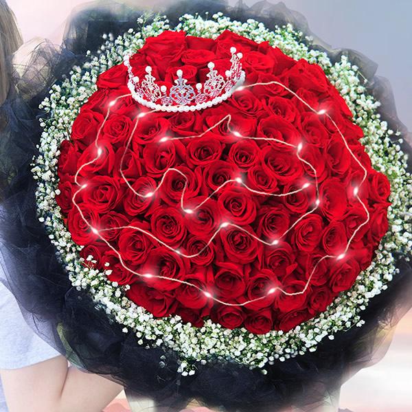 重阳节礼物                                                                                          鲜花网:快乐永久
